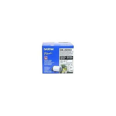 Brother DK PAPER TAPE (WHITE) DK22243