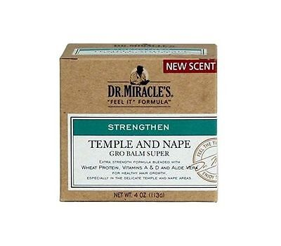 Dr. Miracle's Strengthen Temple And Nape Gro Balm Super