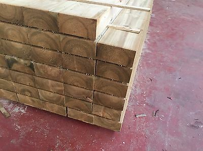 *limited Offer* Railway Sleepers 200x100x2400mm Tanalised