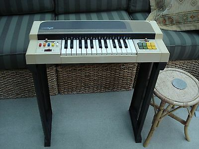 Vintage Bontempi Organ with Instruction Manual and Music - Fully Working