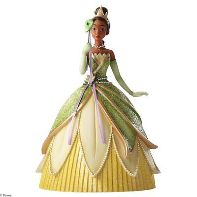 "Princess Tiana Masquerade Figurine ""Haute Couture"" Disney Showcase Collection"