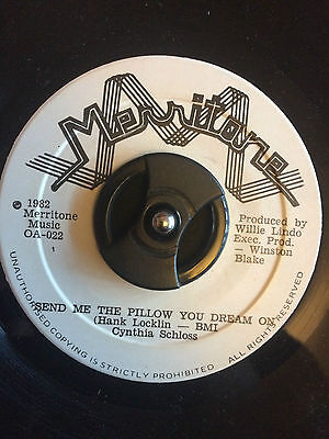 Cynthia Schloss - Send Me The Pilow You Dream On 7""