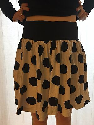 Vintage spotted culottes size 8