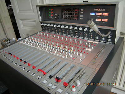 STUDER 089 Vintage (Solid State) High-End Studio-Console in TOP-Zustand!