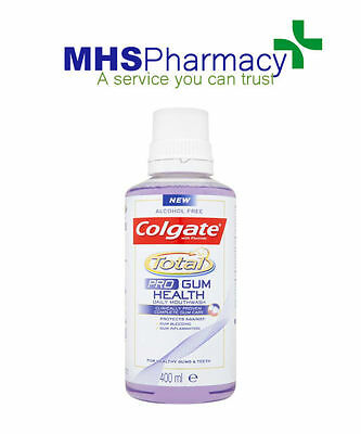 Colgate Total Pro Gum Health Daily Mouthwash 400ml