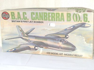 Airfix B.A.C. Canberra B (I).6. 1:72 Scale Kit No.05012