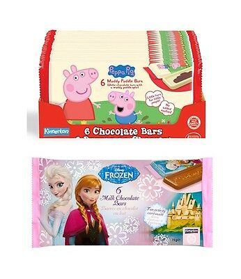 PEPPA PIG/FROZEN CHOCOLATE !OUT OF DATE!(UK/British/Candy/Bars/Milk/White Choco)