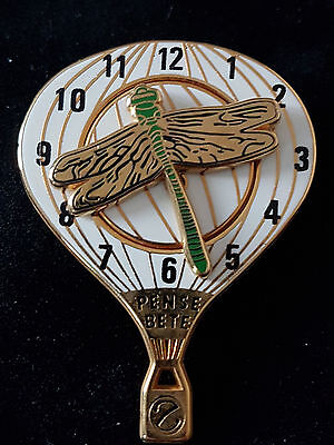 Gros Pins Pin's Montre Watch Montgolfier Double Moules Amovible Arthus Bertrand