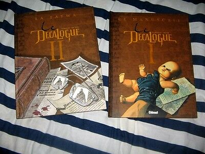 "Lot De 2 Bd: "" Le Decalogue: Tomes 1 & 2 ""/tbe/"