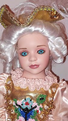 "Show-Stoppers ""Antoinette"" Porcelain Doll Florence Maranuk Collection"