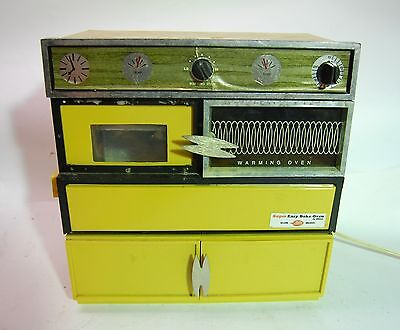 Vintage and Rare SUPER Easy Bake Oven by Kenner, Oven and Stove Toy