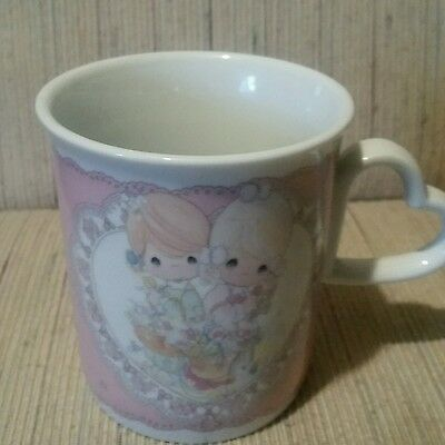 "Precious Moments Coffee Cup..""To My Forever Friend"""