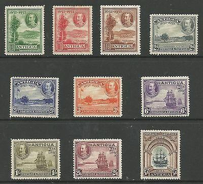 Antigua Sg81-90 The 1932 Gv Set Of 10 Mounted Mint Cat £225