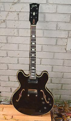 Vintage Gibson Es-335  Project Semi Hollow Body  Guitar 1973 Need Pickups  Parts