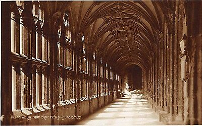 Postcard Wells the Cloisters