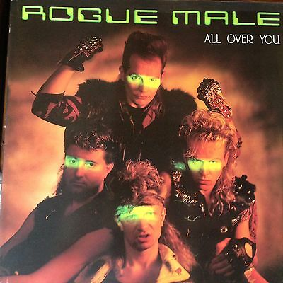 """rogue male - all over you 12"""" vinyl single"""
