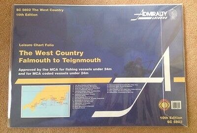 Marine Navigation Charts South West