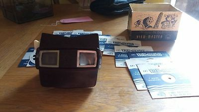 Antique/ Vintage View-Master Stereoscopes 3-D Dimension Viewer/ projector