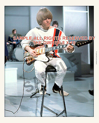 the ROLLING STONES  BRIAN JONES 8x10 orig photograph high quality 8X 10 STAMPED