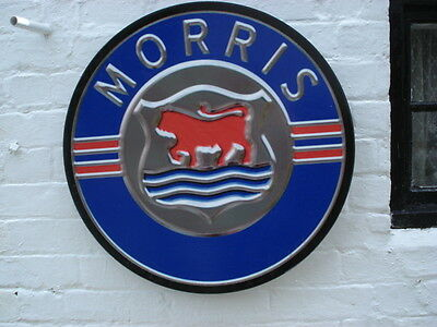 Morris garage plaque