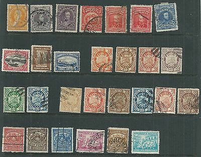 Bolivia 1800-..Old Collection of 28. Used