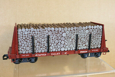 LGB 43780 G GAUGE SUMPTER VALLEY PULP WOOD LOG CAR WAGON 76604 ni