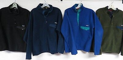 Lot Of 9 Fleece Pullovers & Vests Vtg Patagonia Synchilla #1 & #2 Grade Med-Xl