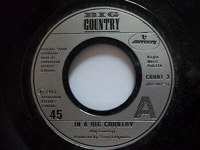 """BIG COUNTRY In A Big Country 7"""" Vinyl"""