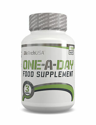 BIOTECH USA ONE A DAY 100 Tabs Complete Multivitamin Formula