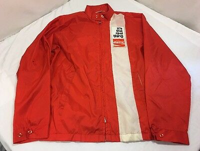 Vintage, Coca Cola Employee?, Patch Jacket, Windbreaker, Light Jacket (SZ-Small)