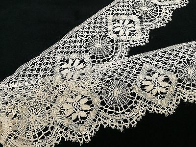 """Vintage Handmade Lace, 3"""" X 2 Yards - Lovely! (RF221)"""