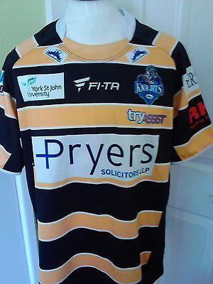 York City Knights Rugby League jersey  size L  adult