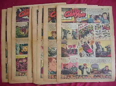 Steve Canyon, 43 sunday Tab pages from 1953