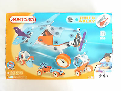 Meccano build and play Sets 6106 Complete