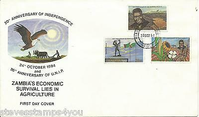 Zambia - 1984 - 20th Anniversary of Independence - Not Postal Used