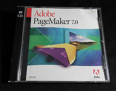 2 Programs: Adobe PageMaker 7.0 + Possibilities Software for MAC
