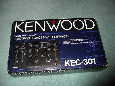 kenwood old school KEC 301 crossover active dividing network NEW IN BOX rare