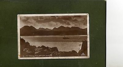 "Vintage Postcard of ""The Torridon Peaks From Carn Dearg"""