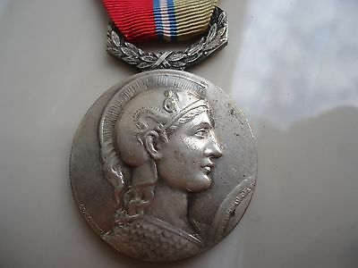 1953  French Medal Of Honour Awarded By The Syndicat General Du Commerce