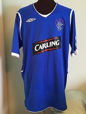 Official Umbro Glasgow Rangers Home Football Shirt Size Adult Large
