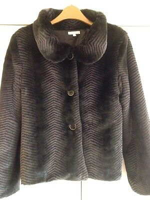 Girls Faux Fur Jacket / Coat, Christmas / Winter / Party, Age 13 NWoT, Gorgeous!