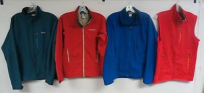 Lot Of 4 Patagonia Jackets And Vests Xs - Small - Med - Large Polyester Blends