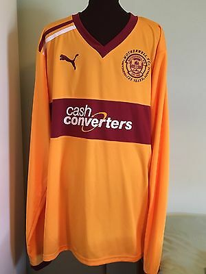 Bnwt Official Motherwell Fc 125 Years Commemorative Shirt By Puma Size Adult 3Xl
