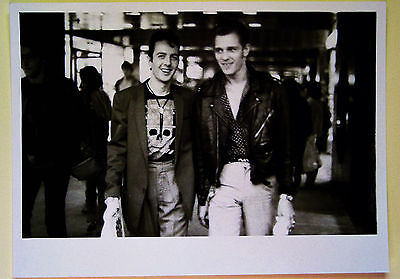 Joe STRUMMER Paul SIMONON CLASH 1982  Photographie argentique originale