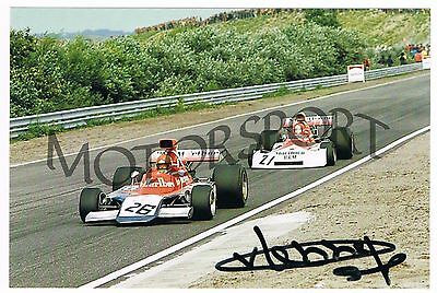Gijs van Lennep F1 Iso Marlboro Williams 1973 original autogr.