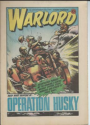 Warlord Comic number 326 Dec 20th 1980