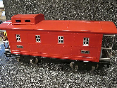 Mth  Tinplate 517 Lighted Caboose 10-1098