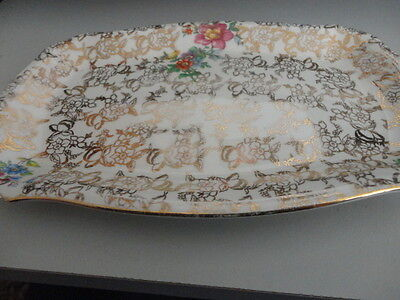 Vintage Lord Nelson Chintz Floral Serving Plate