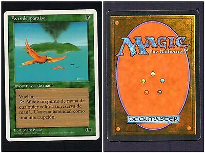MTG Birds of Paradise MINT 5ED Spanish BOP