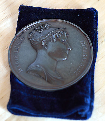 Napoleon Medal France Marie Louise Imperatrice 67Mm